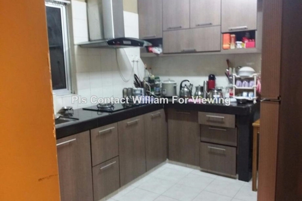For Sale Condominium at Desa Villas, Wangsa Maju Leasehold Semi Furnished 3R/2B 830.0千