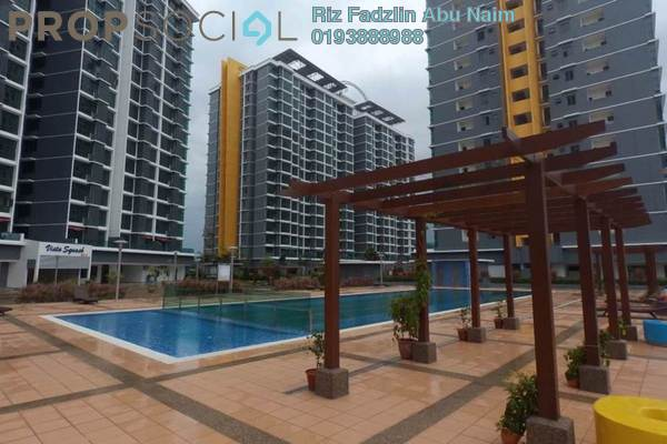 For Rent Condominium at Vista Alam, Shah Alam Leasehold Semi Furnished 3R/2B 1.6k