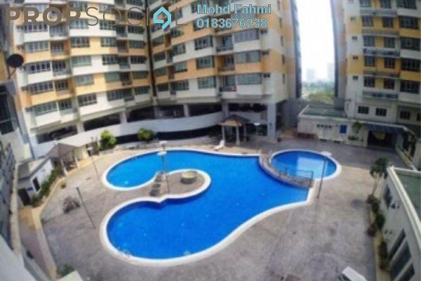 For Sale Apartment at Mutiara Anggerik, Shah Alam Leasehold Semi Furnished 3R/2B 450k