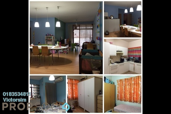 For Rent Condominium at Taman Shamelin Perkasa, Cheras Leasehold Fully Furnished 3R/2B 1.8k