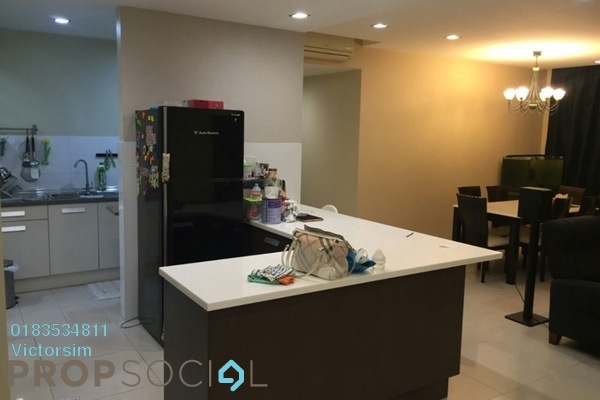 For Rent Condominium at Casa Kiara II, Mont Kiara Freehold Semi Furnished 3R/3B 3.8k