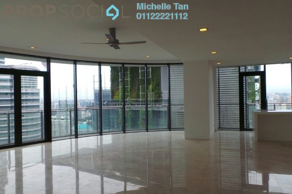 For Rent Condominium at K Residence, KLCC Freehold Semi Furnished 6R/8B 21k