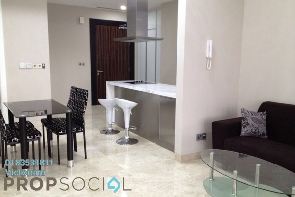 For Sale Condominium at Icon Residence (Mont Kiara), Dutamas Freehold Fully Furnished 1R/1B 990k