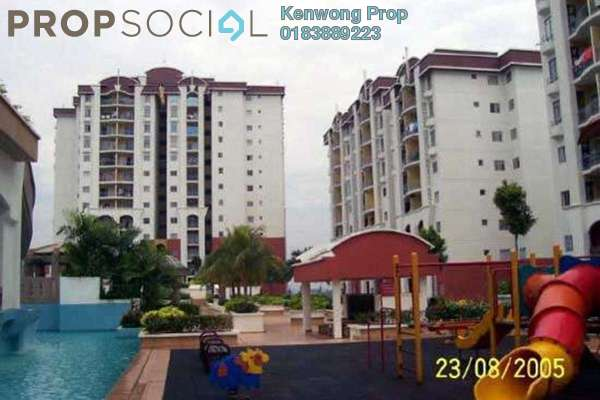 For Rent Condominium at Ketumbar Hill, Cheras Freehold Semi Furnished 2R/2B 1.2k