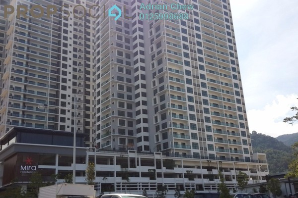 For Sale Condominium at Mira Residence, Tanjung Bungah Freehold Unfurnished 3R/2B 975k
