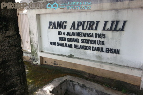 For Sale Apartment at Lili Apartment, Shah Alam Freehold Semi Furnished 3R/2B 250k