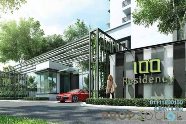 For Sale Condominium at 100 Residency, Setapak Freehold Semi Furnished 3R/2B 745k