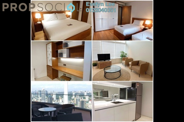 For Sale Condominium at Vortex Suites & Residences, KLCC Freehold Fully Furnished 2R/2B 2.8m