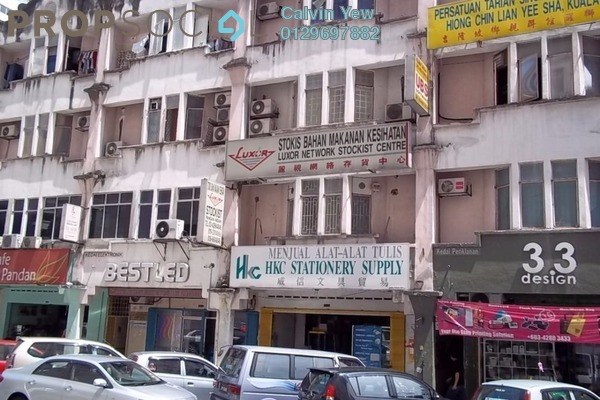 For Rent Shop at Pandan Indah, Pandan Indah Leasehold Semi Furnished 0R/0B 2.9k