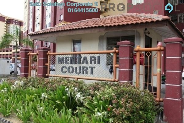 For Rent Condominium at Mentari Court 1, Bandar Sunway Leasehold Semi Furnished 3R/2B 1.3k