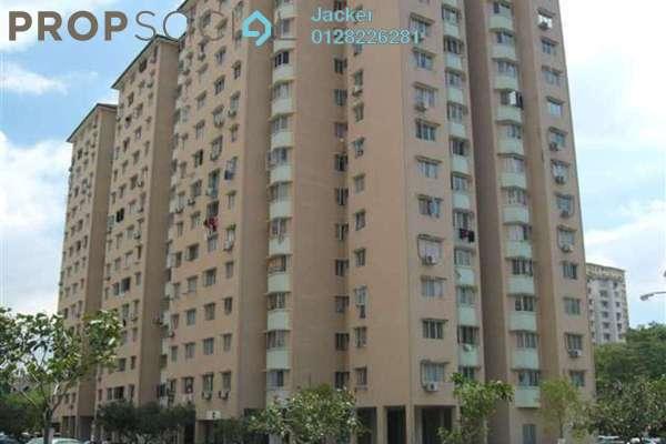 For Rent Condominium at Desa Aman Puri, Kepong Freehold Semi Furnished 3R/2B 1.2k