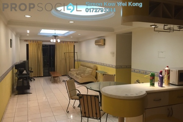 For Rent Condominium at Vista Komanwel, Bukit Jalil Freehold Fully Furnished 4R/2B 1.5k
