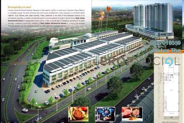 For Sale Shop at Bandar Teknologi Kajang, Semenyih Freehold Unfurnished 3R/6B 2.19m