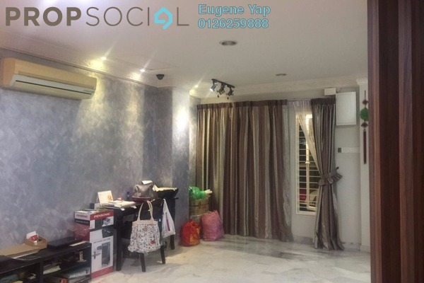 For Sale Terrace at Taman Kok Doh, Jinjang Freehold Semi Furnished 4R/3B 850k