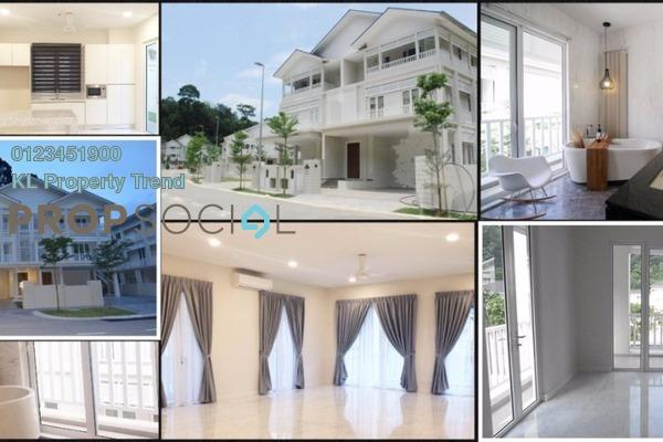 For Rent Villa at Serene Kiara, Mont Kiara Freehold Semi Furnished 5R/6B 13k