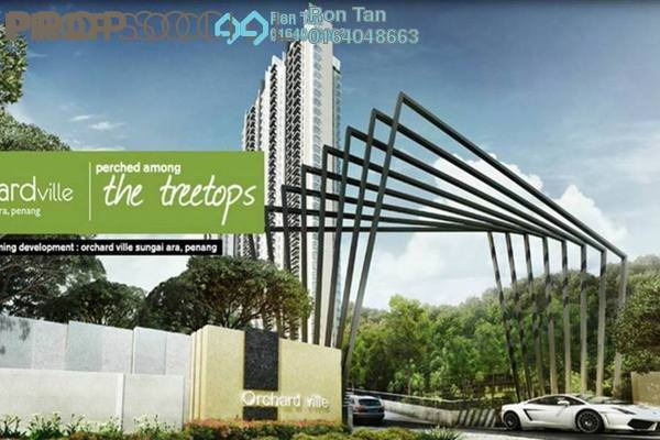 For Sale Condominium at Orchard Ville, Sungai Ara Freehold Unfurnished 3R/2B 650k