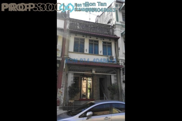 For Sale Terrace at Penang Street, Georgetown Freehold Unfurnished 3R/2B 2.9m