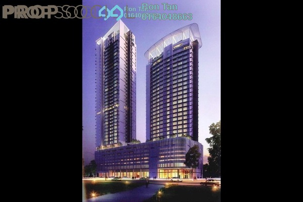 For Sale Condominium at Jazz Residence, Seri Tanjung Pinang Freehold Semi Furnished 3R/4B 1.92m