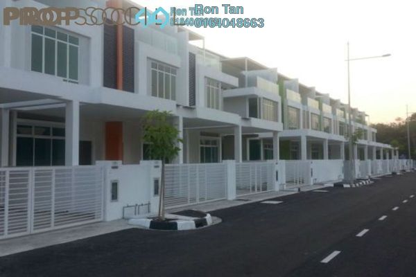 For Sale Terrace at Orchardia, Balik Pulau Freehold Unfurnished 4R/4B 730k
