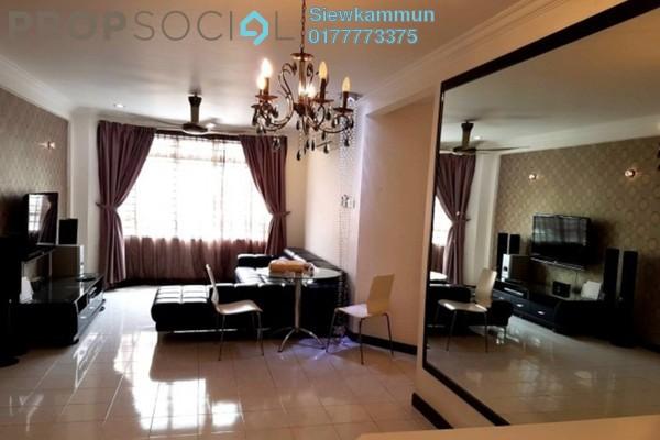 For Rent Apartment at D'Shire Villa, Kota Damansara Leasehold Fully Furnished 3R/2B 1.6k
