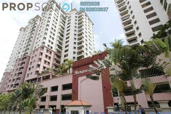 For Rent Condominium at Menara Duta 2, Dutamas Freehold Semi Furnished 4R/3B 1.8k