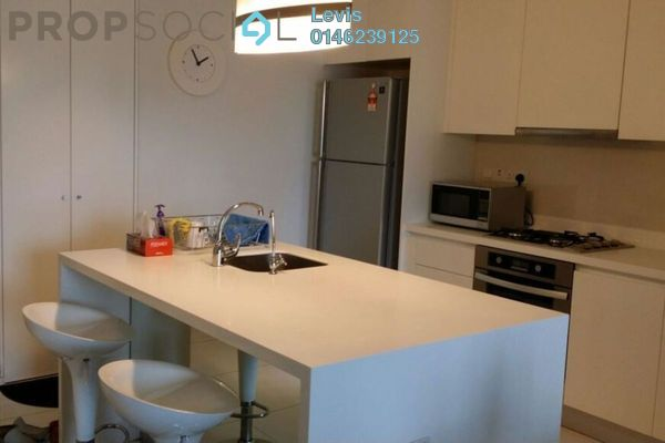 For Rent Condominium at Hampshire Residences, KLCC Freehold Fully Furnished 1R/1B 3.4k
