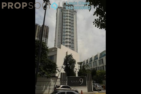 For Rent SoHo/Studio at Kiara 9, Mont Kiara Freehold Fully Furnished 1R/1B 2.9k