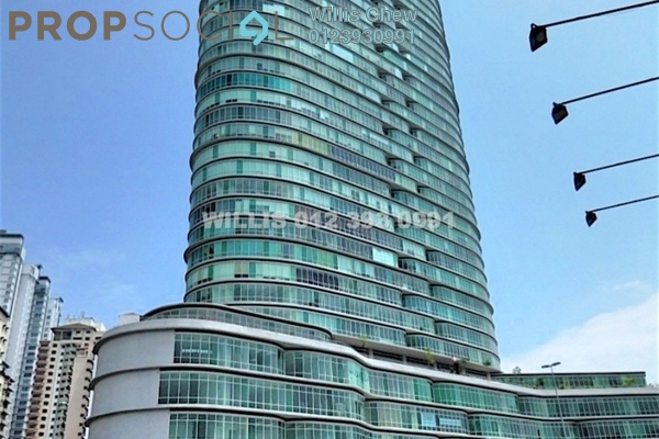 For Rent Office at Oval Tower, TTDI Freehold Semi Furnished 0R/0B 3.3k