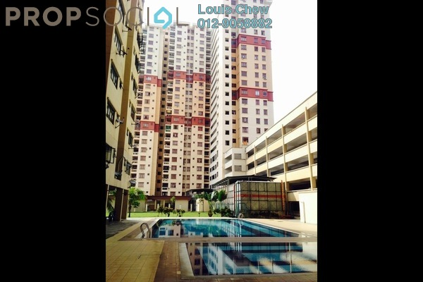 For Rent Condominium at Permai Puteri, Ampang Leasehold Fully Furnished 3R/2B 1.4k