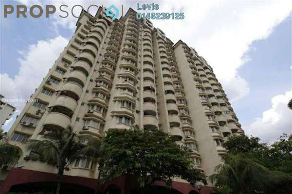 For Rent Condominium at Shang Villa, Kelana Jaya Freehold Fully Furnished 3R/2B 2.1k