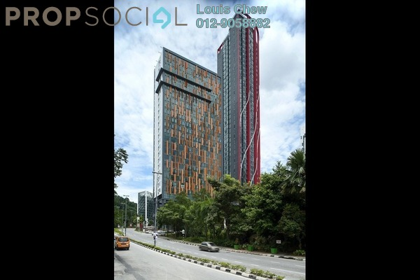 For Rent Condominium at Empire Damansara, Damansara Perdana Leasehold Semi Furnished 1R/1B 1.65k