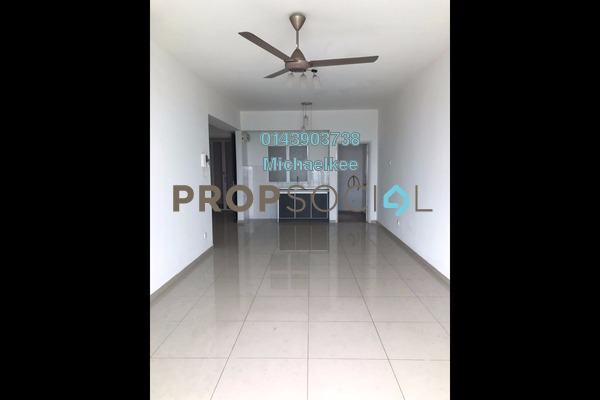 For Rent Condominium at The Zest, Bandar Kinrara Freehold Semi Furnished 3R/2B 1.7k