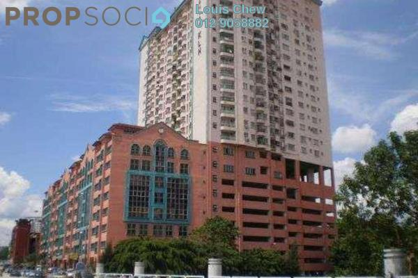For Rent Condominium at D'Cahaya Apartment, Bandar Puchong Jaya Freehold Fully Furnished 3R/2B 1.6k