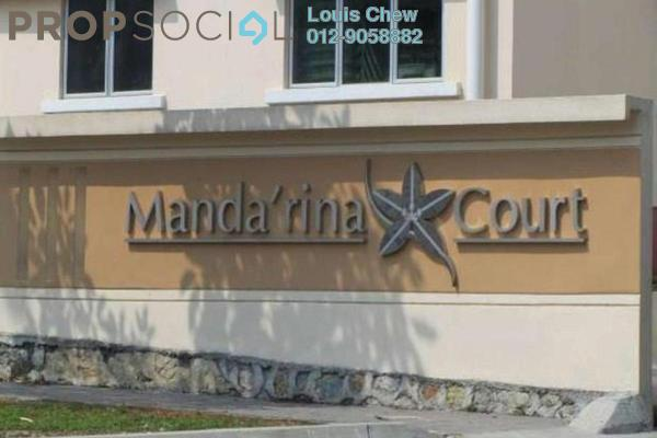 For Rent Condominium at Mandarina Court, Cheras Leasehold Semi Furnished 3R/2B 1.2k