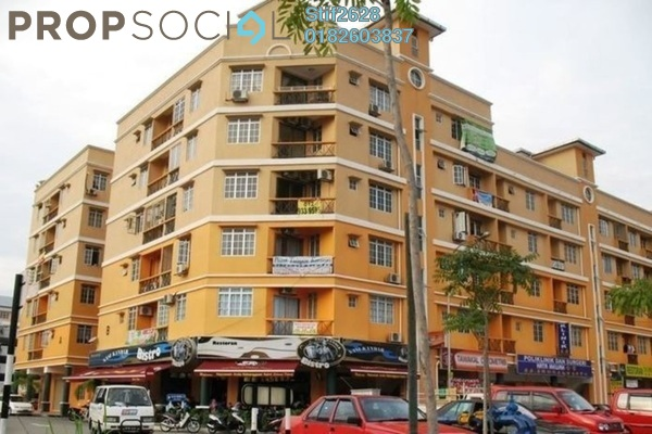For Rent Apartment at Hata Square, Pandan Indah Leasehold Unfurnished 3R/2B 1.2k