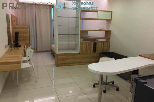 For Rent Condominium at Zeva, Bandar Putra Permai Leasehold Fully Furnished 0R/1B 1.2k