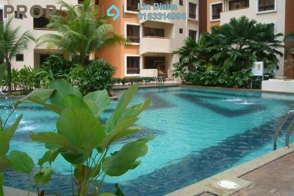 For Rent Condominium at Palm Spring, Kota Damansara Leasehold Semi Furnished 3R/2B 1.4k