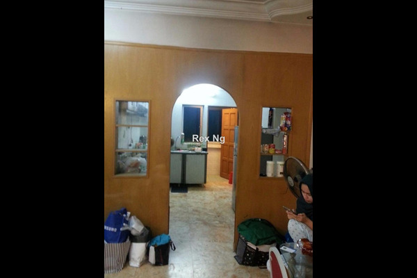 For Sale Condominium at Teratai Mewah Condominium, Setapak Leasehold Unfurnished 3R/0B 380k