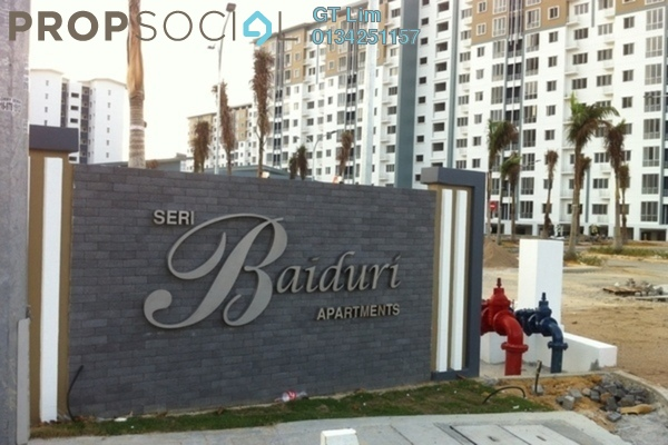 For Rent Apartment at Seri Baiduri, Setia Alam Freehold Semi Furnished 3R/2B 900translationmissing:en.pricing.unit