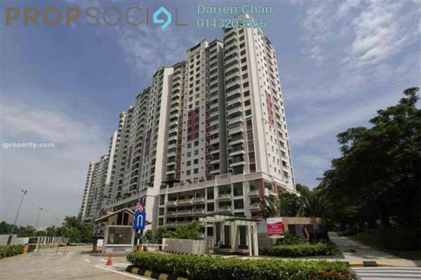For Sale Condominium at Savanna 1, Bukit Jalil Freehold Semi Furnished 4R/2B 590k