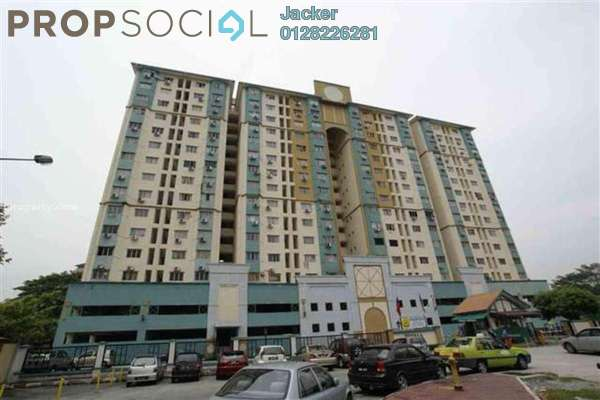 For Rent Condominium at Prisma Perdana, Cheras Freehold Fully Furnished 3R/2B 1.1k