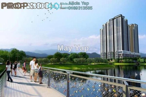 For Sale Serviced Residence at LakePark Residence @ KL North, Selayang Leasehold Semi Furnished 3R/2B 570k