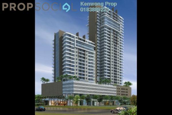 For Rent Condominium at Kelana Damansara Suite, Kelana Jaya Freehold Semi Furnished 0R/1B 1.2k