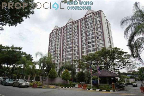 For Sale Condominium at Danau Impian, Taman Desa Leasehold Semi Furnished 3R/2B 450k