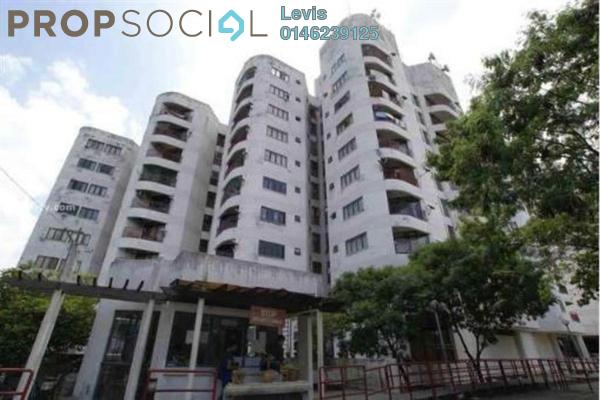 For Sale Condominium at Indah Villa, Bandar Sunway Leasehold Semi Furnished 3R/2B 450k