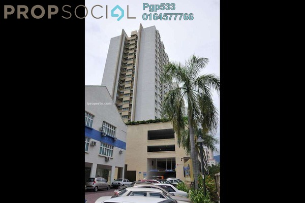 For Sale Apartment at Symphony Park, Jelutong Freehold Semi Furnished 3R/2B 430k