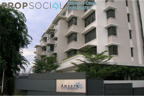 For Sale Condominium at Ameera Residences, Petaling Jaya Freehold Semi Furnished 3R/2B 1.2m