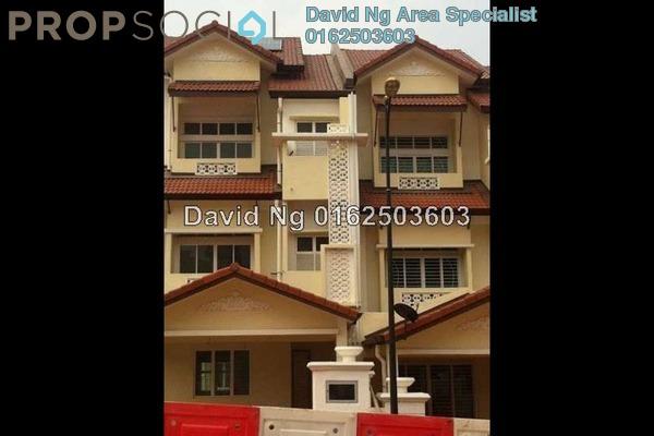For Rent Terrace at Anjung Sari, Setia Alam Freehold Unfurnished 5R/5B 1.7k