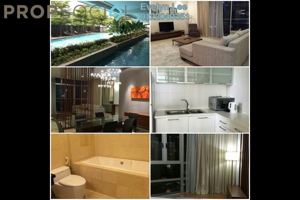 For Rent Condominium at Idaman Residence, KLCC Freehold Fully Furnished 3R/4B 5.2k