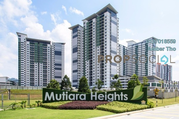 For Sale Condominium at Ivory Residence, Kajang Freehold Semi Furnished 3R/2B 421k